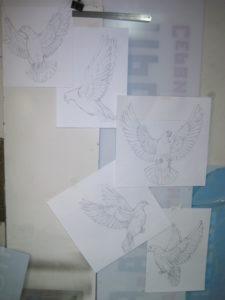 Эскиз орнамента