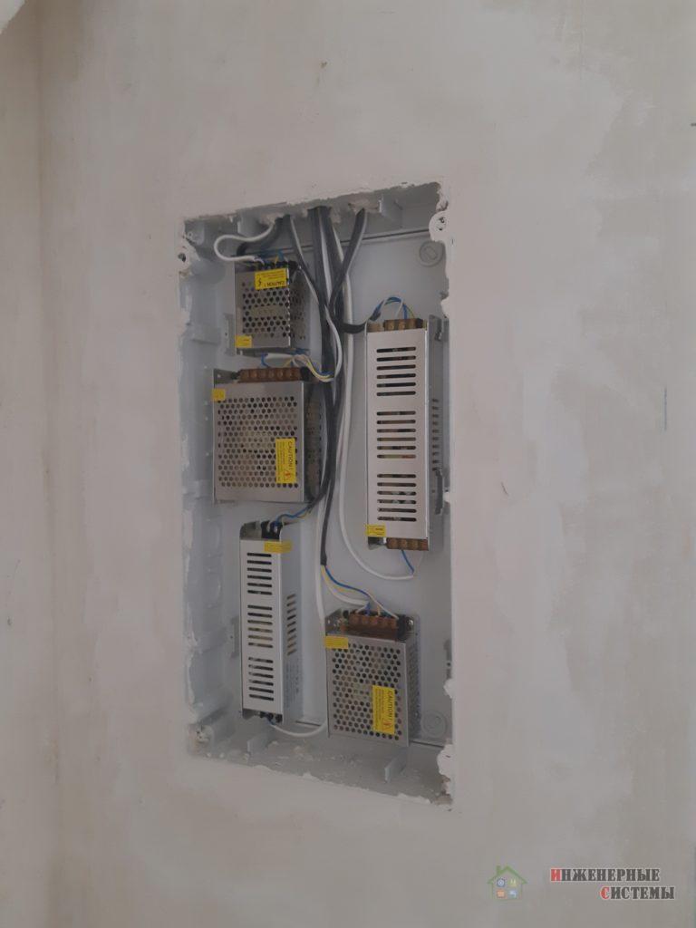Щиток для блоков LED-подсветки
